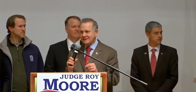 Moore refuses to accept a loss in the Alabama Senate race - Image credit | Fox News | YouTube