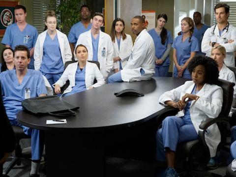 Grey's Anatomy cast - Foto telestar.fr