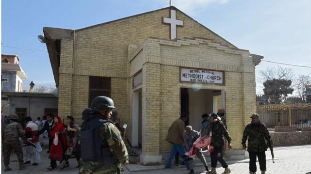 Eight killed after suicide bombers attack church in Pakistan ... - scmp.com
