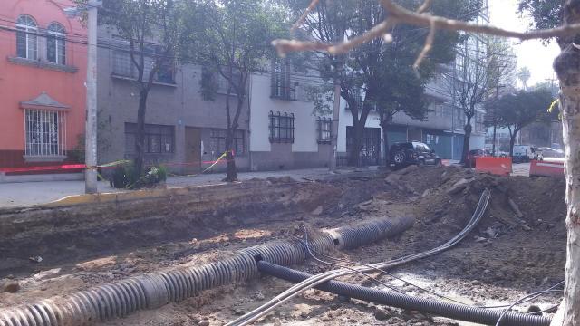 Bajo la primera de Zamora se van cambiando el drenaje y el agua potable.