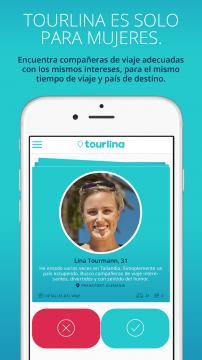 Cada perfil es verificado a través de una cuenta en Facebook (Foto: Tourlina)