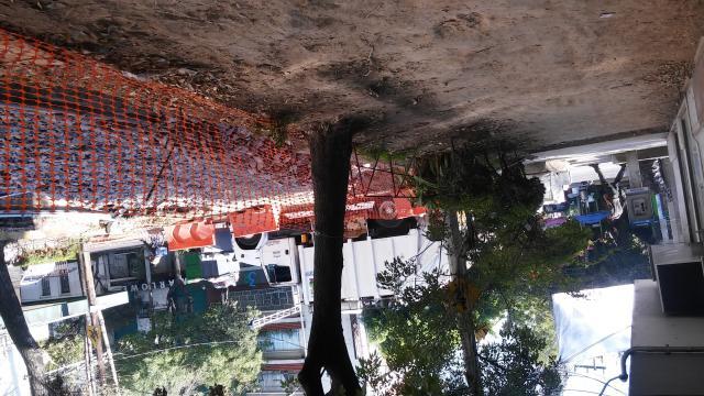 En la calle de Zamora se llevó a cabo una profunda excavación.