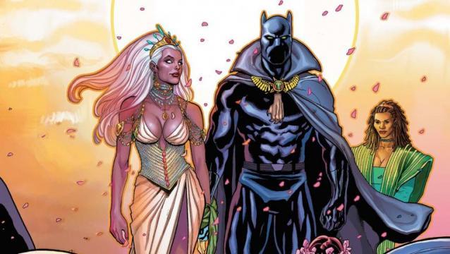 Storm y Black Panther casados, eso es lo que queremos