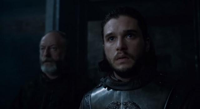 Jon Snow 'Game of Thrones' character/ Photo: screenshot via HBO channel on YouTube