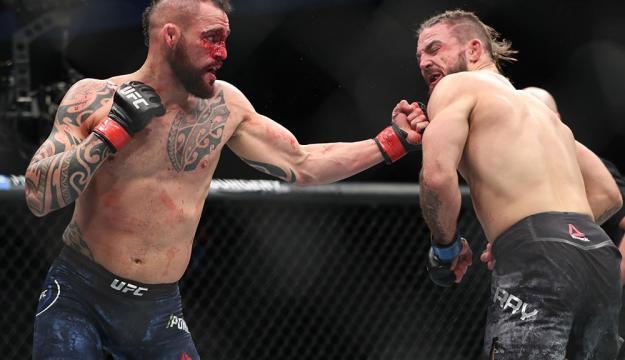 Ponzinnibo pudo derrotar a Perry y una pelea más ganada podría ponerlo en la conversación por el cetro welter. MMA Junkie.com.