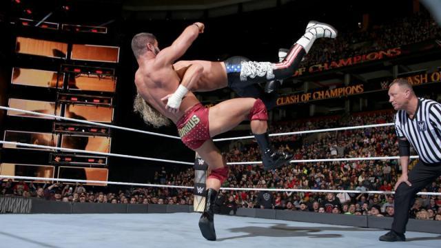 Roode pudo lucir como una estrella que debería estar en el main event. WWE.com.