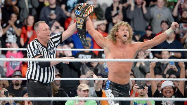Ziggler pudo ganar su segundo título US. WWE.com.