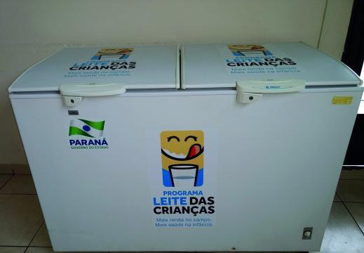 Área de atendimento geral: Programa Leite das crianças (Foto: Fátima de Souza Rocha)
