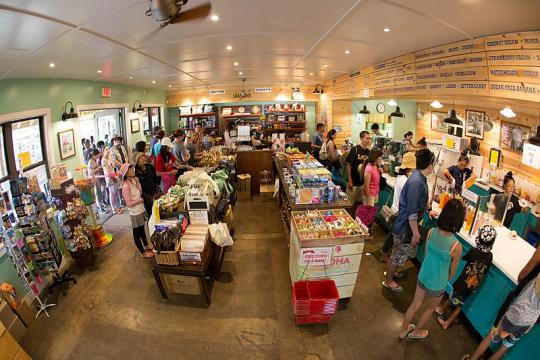 Inside a shop in Hawaii (Image credit – Anthony Quintano, Wikimedia Commons)