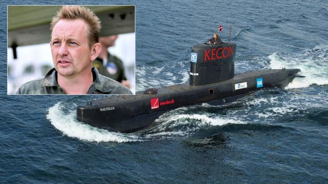 Sky News, Peter Madsen und U-Boot