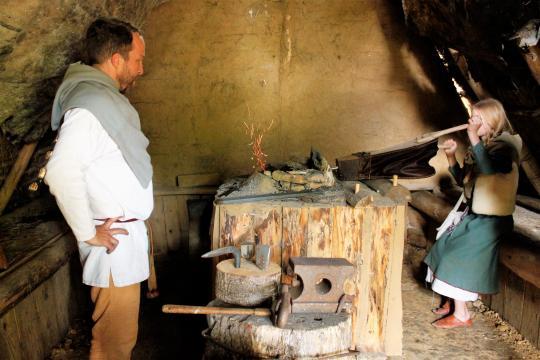 Des ateliers différents existent déjà sur le parc. Ici, une ferronerie artisanale.
