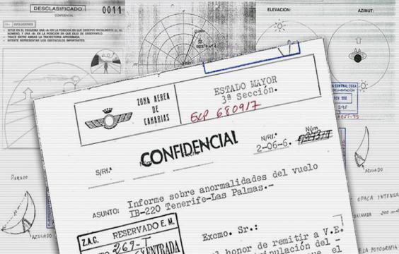 El Ministerio de Defensa Español desclasifica sus expedientes OVNI