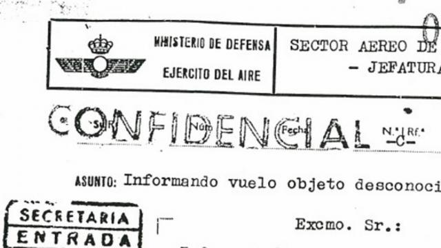 El Ministerio de Defensa cuelga en su Biblioteca Virtual de Defensa sus expedientes relativos a avistamientos de fenómenos extraños
