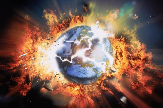 La tierra es victima de la humanidad