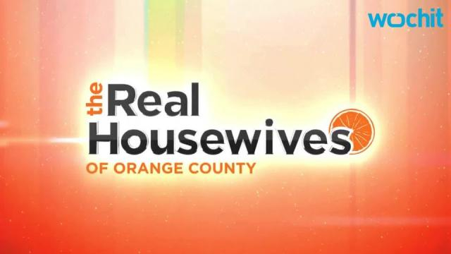 'The Real Housewives of Orange County' logo is seen. - [Photo via Wochit/YouTube]