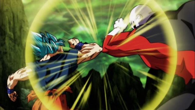 Goku vs Jiren en el episodio 123.