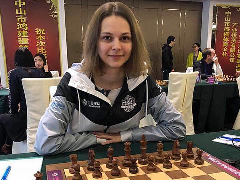 Anna Muzychuk, campionessa mondiale di scacchi