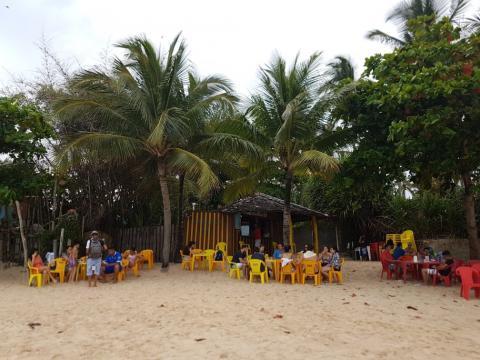 Barraca do Nel - Arraial d`Ajuda - Bahia