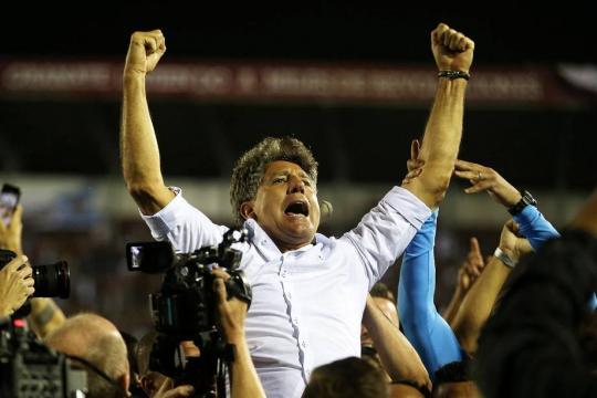 Renato Gaúcho conquista a América como técnico