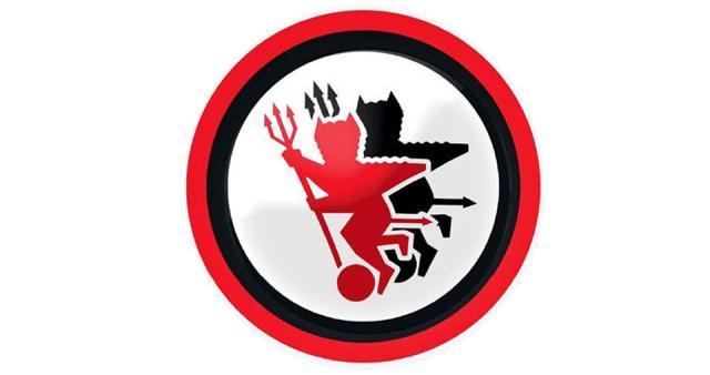 I 'Satanelli', stemma del Foggia Calcio.