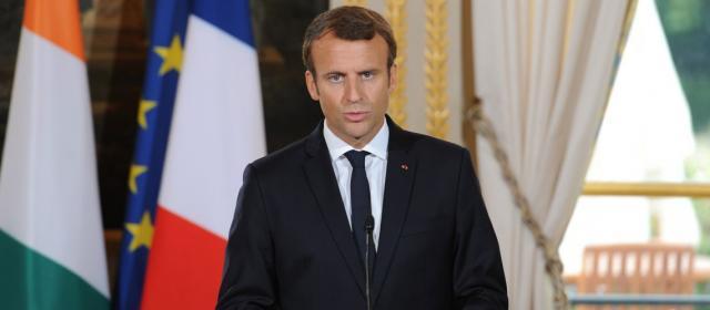 Israël Juif. Le fameux tableau derrière Emmanuel Macron, lors de ... - israelvalley.com