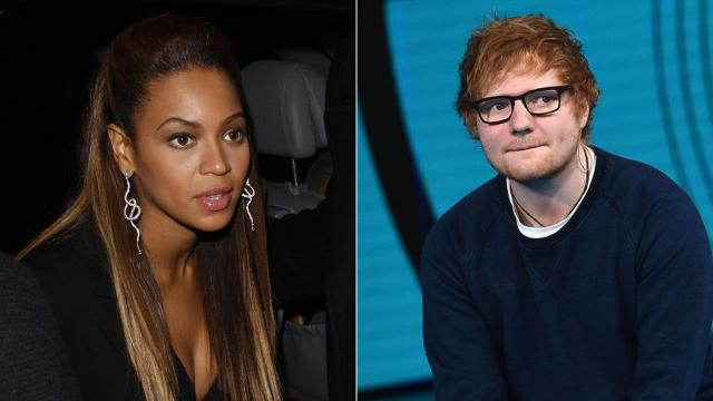 Ed Sheeran told his secret of keeping in touch with Beyonce for their duet