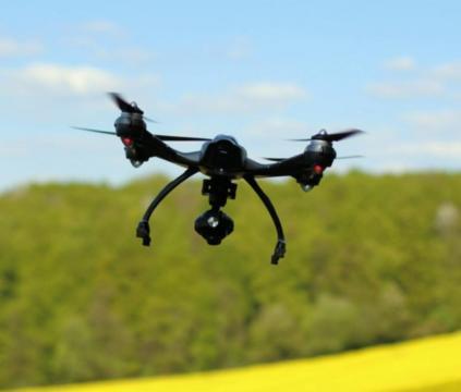 Drones have became a real threat - Image credit - ki-kieh/Pixabay.com