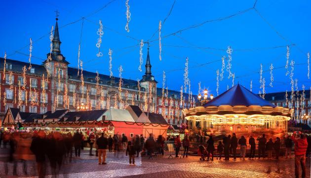 Los mejores mercados navideños - Madrid
