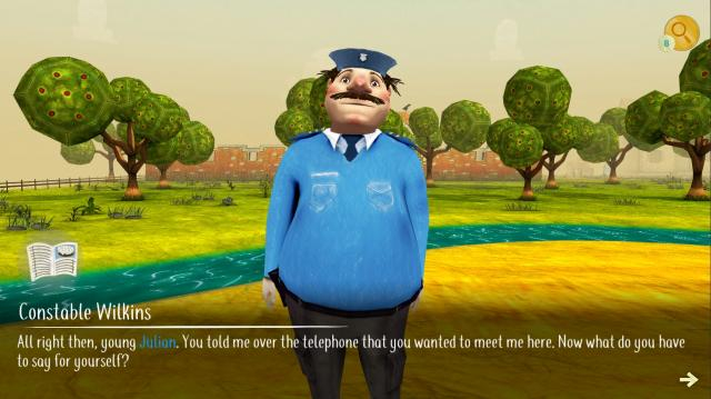 The textured animation in the game is quiet appealing. / Image via Kris Turvey and The Famous Five, used with permission.