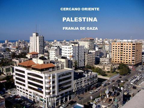 CERCANO ORIENTE PALESTINA FRANJA DE GAZA. La Franja de Gaza es una ... - slideplayer.es