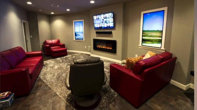 Ventanas de plasma en las habitaciones de los apartamentos del búnker de Kansas