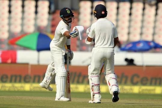 India vs Bangladesh, Day 1 cricket score: Kohli 111, Vijay 108 ... - hindustantimes.com