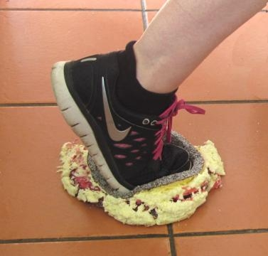 Running and Cake Mashing the New Pastime of the Over 50s