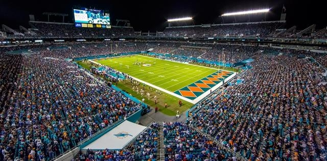 Hard Rock Stadium des Dolphins de Miami
