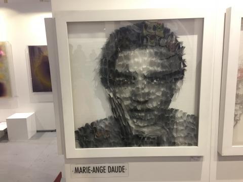 Marie Ange Daude, Art in Eye - Stand E4.