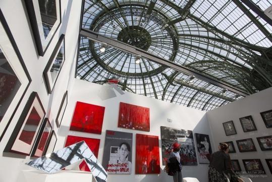 Art Paris Art Fair au Grand Palais à Paris