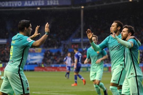 Le Barça impressionne avant d'affronter le PSG - rtl.fr