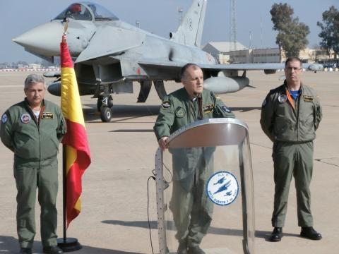El general 2º Jefe del Macom informa sobre los detalles de la operación.