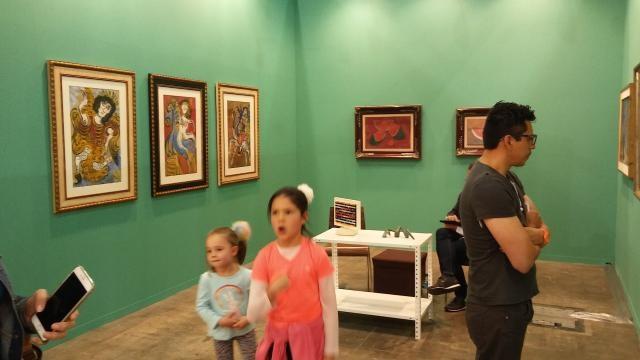 La niñez convivió de la oferta moderna y contemporánea llevándose sus sorpresas.