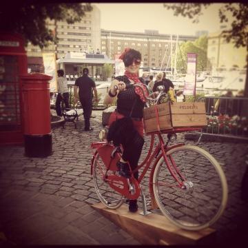 Mirjana Marjanovic Bike Ride in Amsterdam (Image credit: Mirjana Marjanovic)