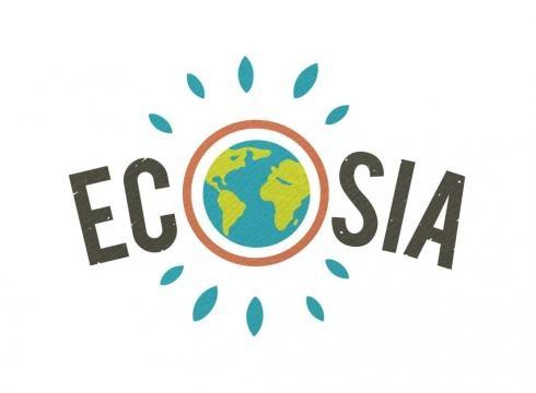 Icona di ecosia, motore di ricerca ecologista