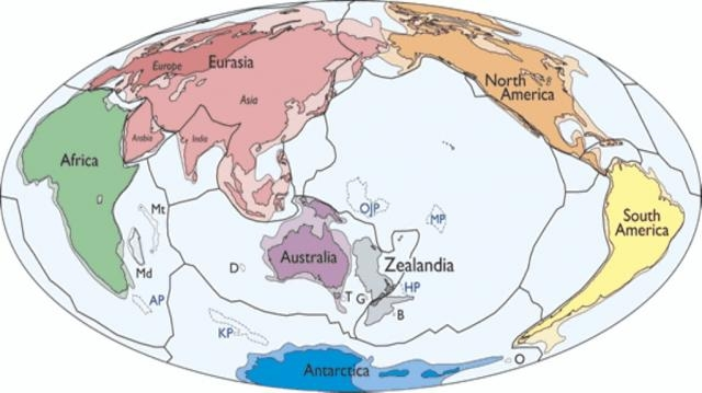 Researchers Argue for Eighth Continent: Zealandia - voanews.com