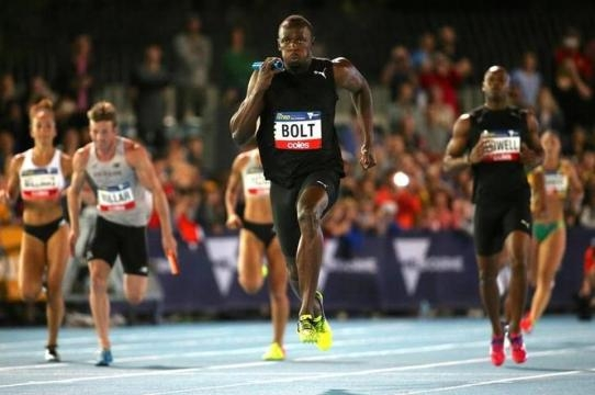 Usain Bolt double show secures classy win for All Stars at ... - hindustantimes.com