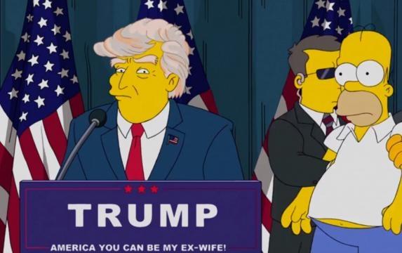 ¡De miedo! La familia amarilla predijo el arribo de Trump a la presidencia de EUA