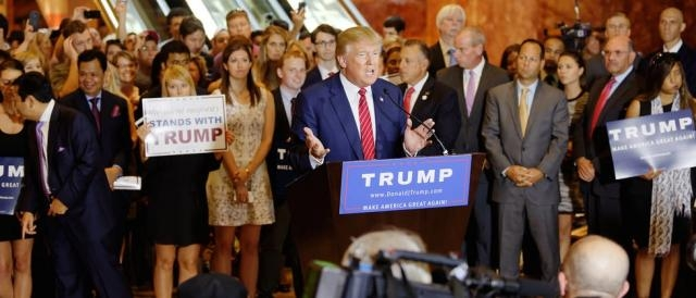 Donald Trump Signs The Pledge | by Michael Vadon