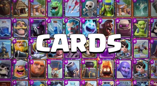 Clash Royale Cards - nuove carte