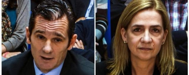 Iñaki Urdangarin y Cristina de Borbón declarando por el caso Nóos