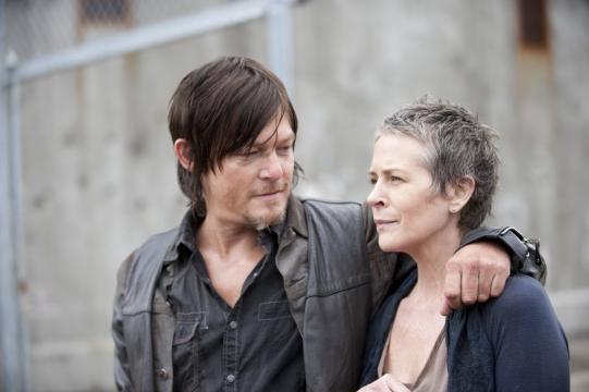 Le 10 migliori coppie delle serie tv: Daryl e Carol -