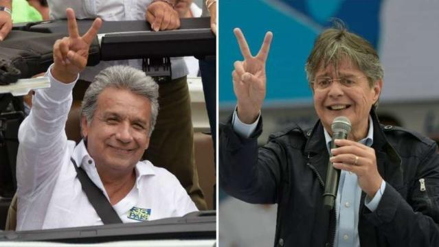 Ecuador: CNE confirma que habrá segunda vuelta entre Lenín Moreno