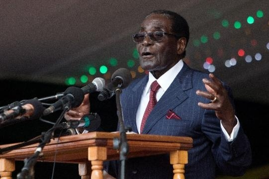 Mugabe raps Zimbabwe judges over protests - yahoo.com